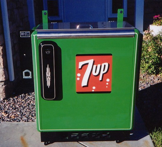 Seven-Up Ideal 55 Sliderbox Machine