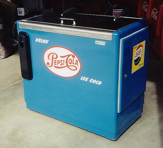 Pepsi-Cola Ideal 85 Sliderbox Machine