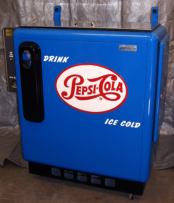 Pepsi Cola Ideal 55 Machine - Front View