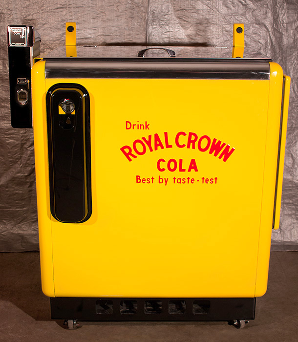 Royal Crown Ideal 55 Machine -               Front View
