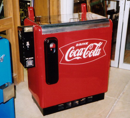Coca-Cola Ideal 55 Sliderbox Machine