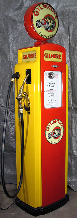 Bennett 541 Gilmore Racing Fuels Pump - Right View