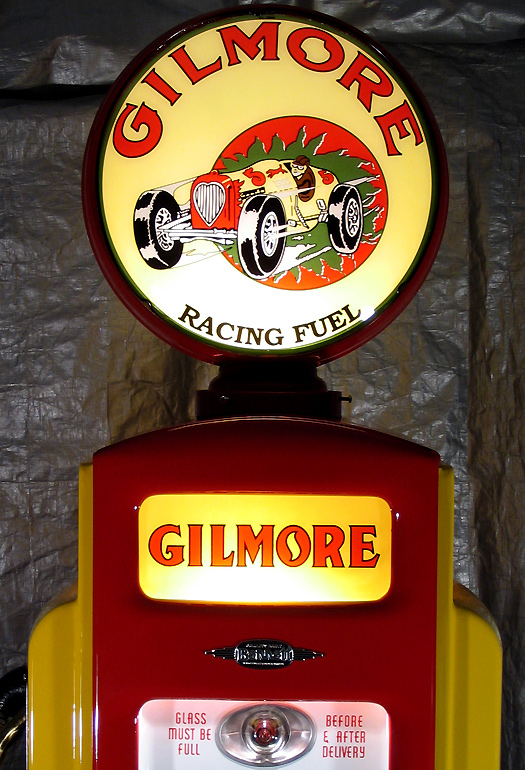 Bennett 541 Gilmore Racing Fuels Pump - Globe Detail
