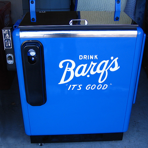 Barq's Ideal 55 Machine - Front View