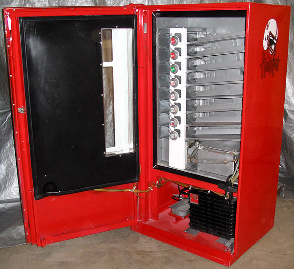 Nebraska Cornhuskers Cavalier 64 Machine - Interior