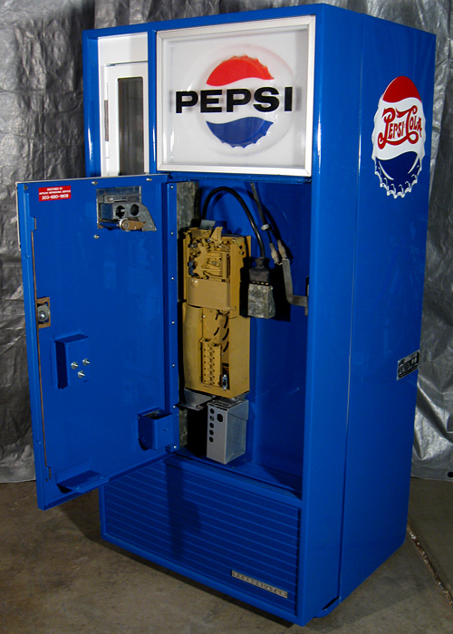 pepsi machine coin mechanism