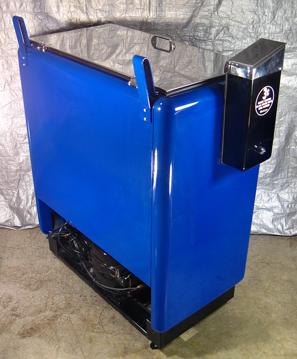 Pepsi Cola Ideal 55 Machine - Rear View
