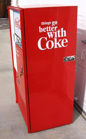 Coca Cola Vendo 63 Machine - Right Side View