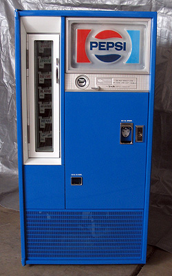 Pepsi-Cola Vendo 63 Stock Can Machine - Small Image