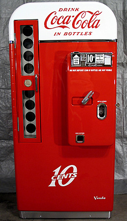 Coca Cola Vendo 81 Machine Photoshoot