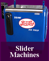 Photoshoots of custom designed soda machines.