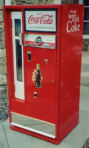 Coca-Cola CSS64 Bottle Serving Machine