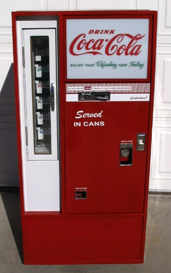 vendo 56 coke machine for sale