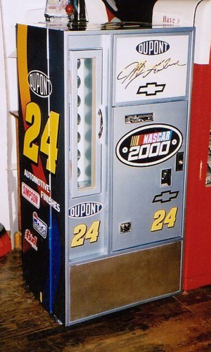 Jeff Gordon Style Vendo 56 Square Top Machine