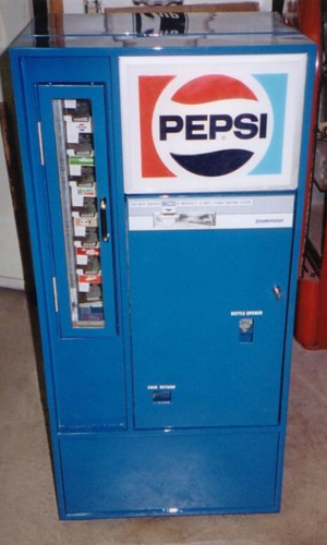Pepsi-Cola Vendo 56 Square Top Machine