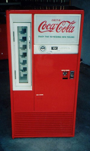 Coca-Cola Vendo 63 Square Top Machine