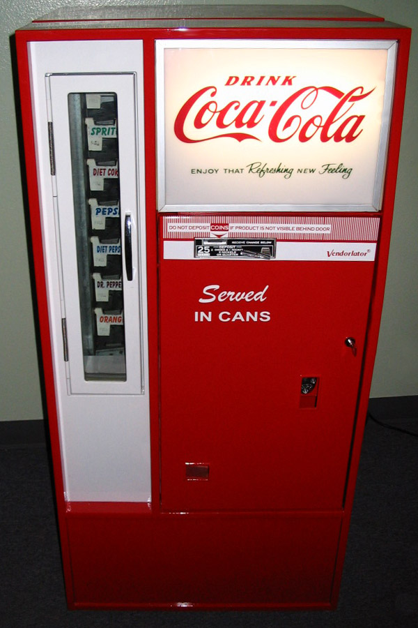 Coca Cola Vendo 56 Machine - Front View
